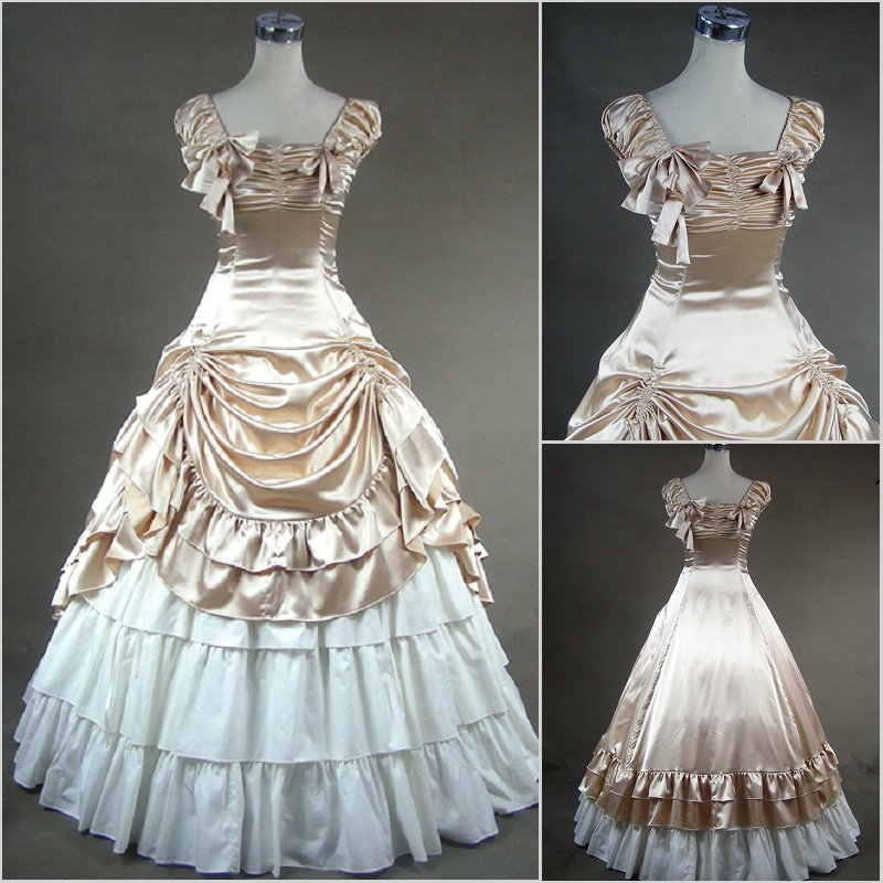 Princesse robe de bal douce lolita robe vintage falbala bowknot longue robe victorienne kawaii fille gothique lolita jsk loli cosplay