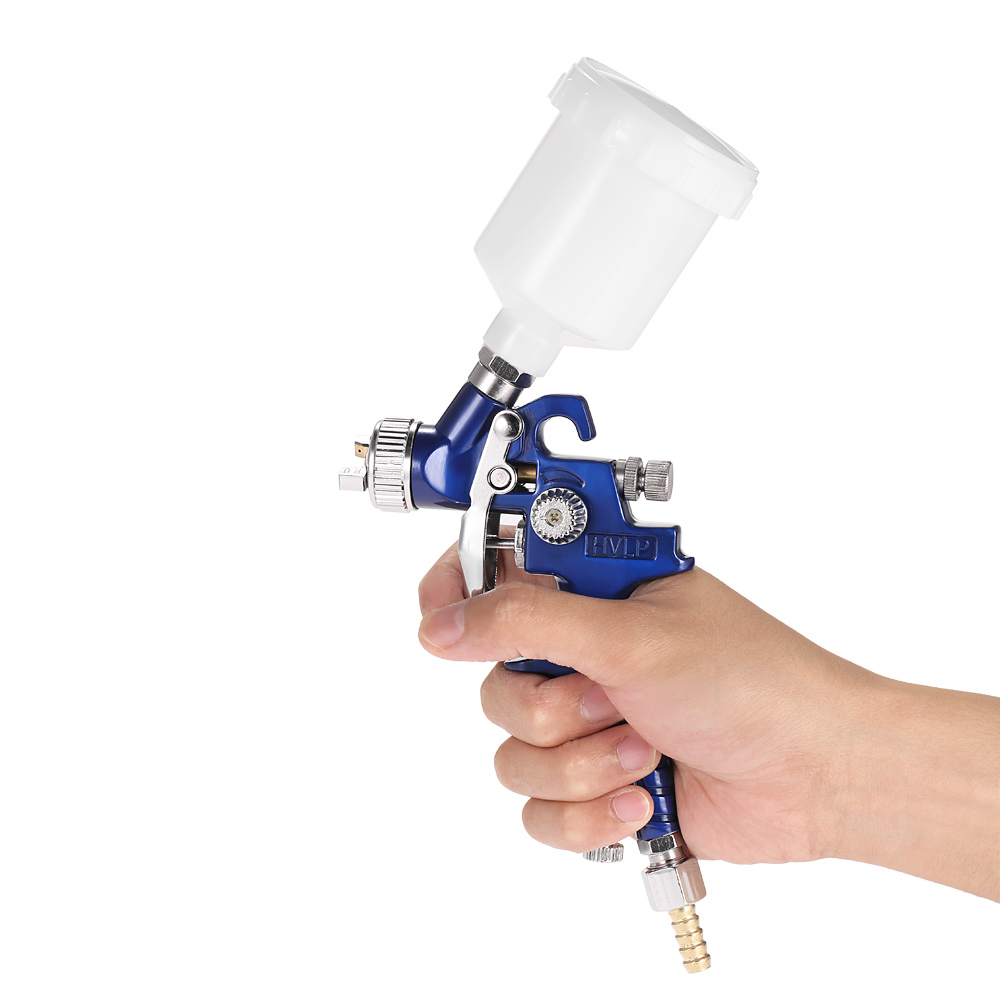 H9b71447374e34ee7b02712117a582d98v - HVLP spray gun professional touch-up mini paint sprayer for toy leather furniture and car reparing painting