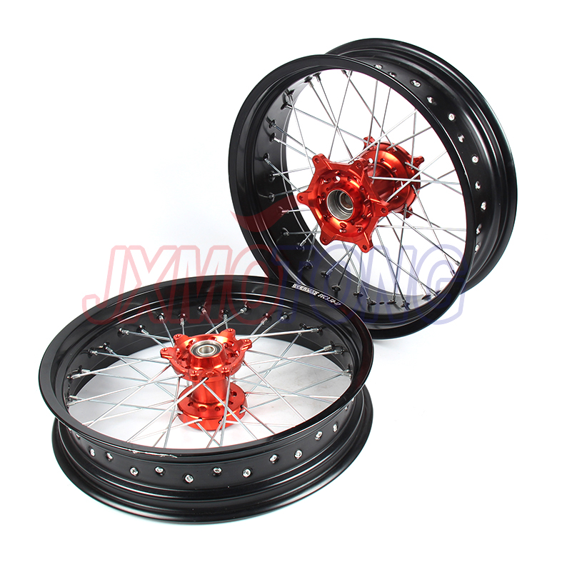 3.5/4.25*17 OEM SIZE SUPERMOTO FOR HONDA CRF250X CRF450X 05-17 WHEEL RIM SETS