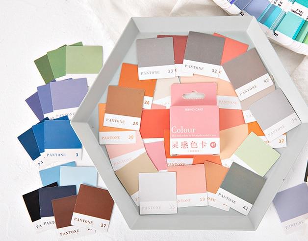 Inspire Color Diy Decorative Sticker(1pack=45pieces)