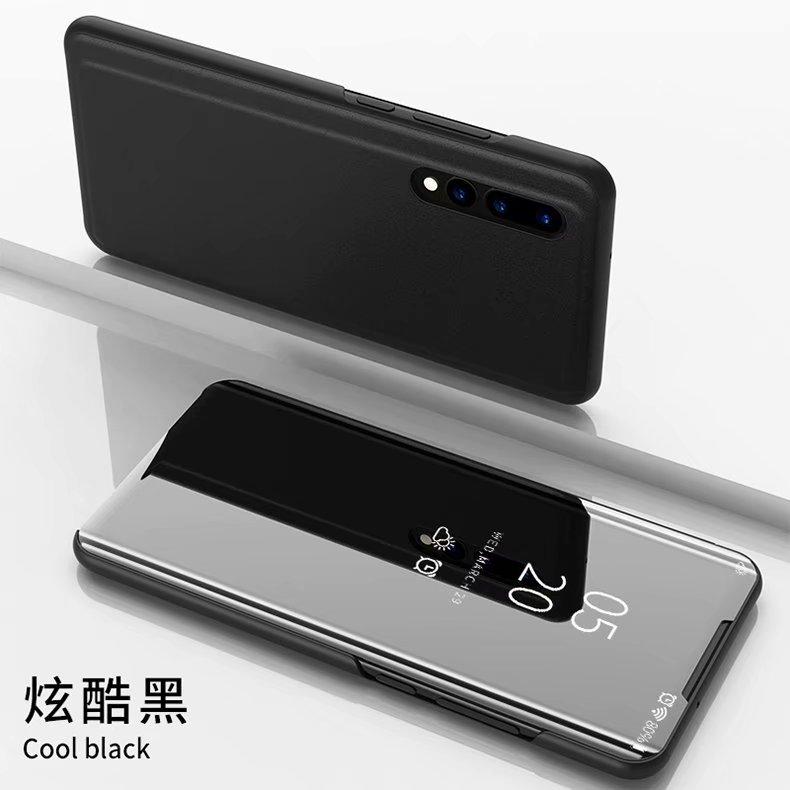 360 Smart Full Cover Case For Samsung Galaxy A51 A71 A01 S20 Ultra Plus A30 A40 A50 A7 2018 A6 A8 Plus A9 2018 Mirror Phone Case