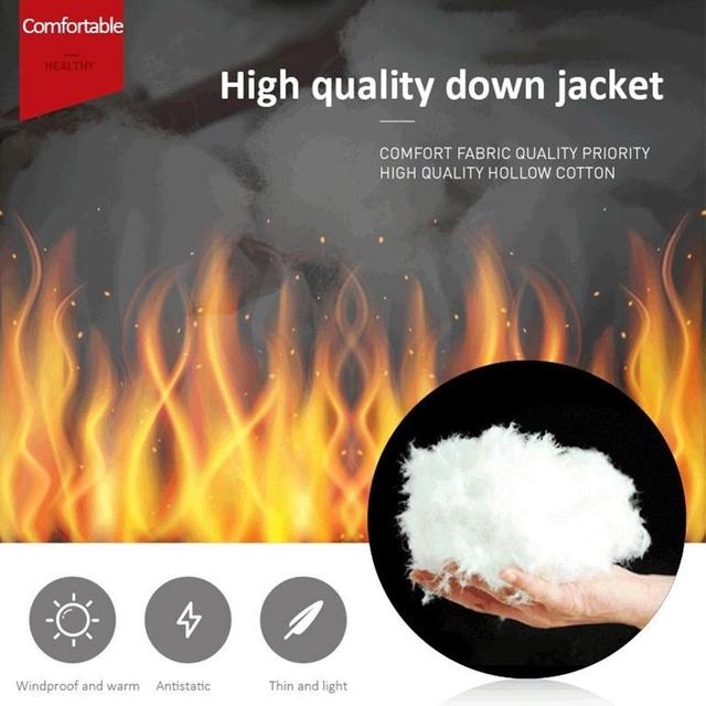 Winter Smart Self-heating Vest Cotton-padded Clothes Solid Color Sleeveless Vest Men's USB Charging Plus Velvet Jacket Men's 6