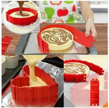 4 шт/компл испечь змеиная силиконовая форма для торта «сделай