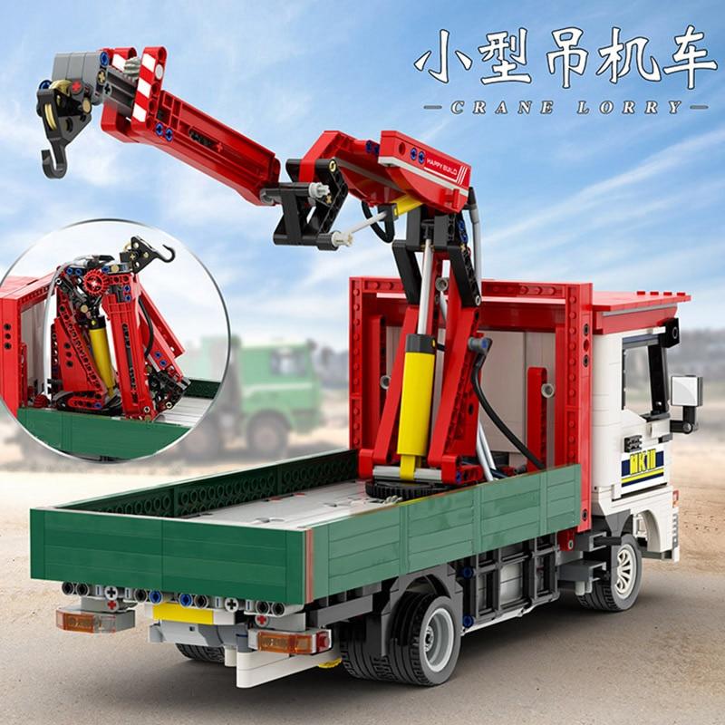 Yeshin Motor Car Model The Crane Lorry