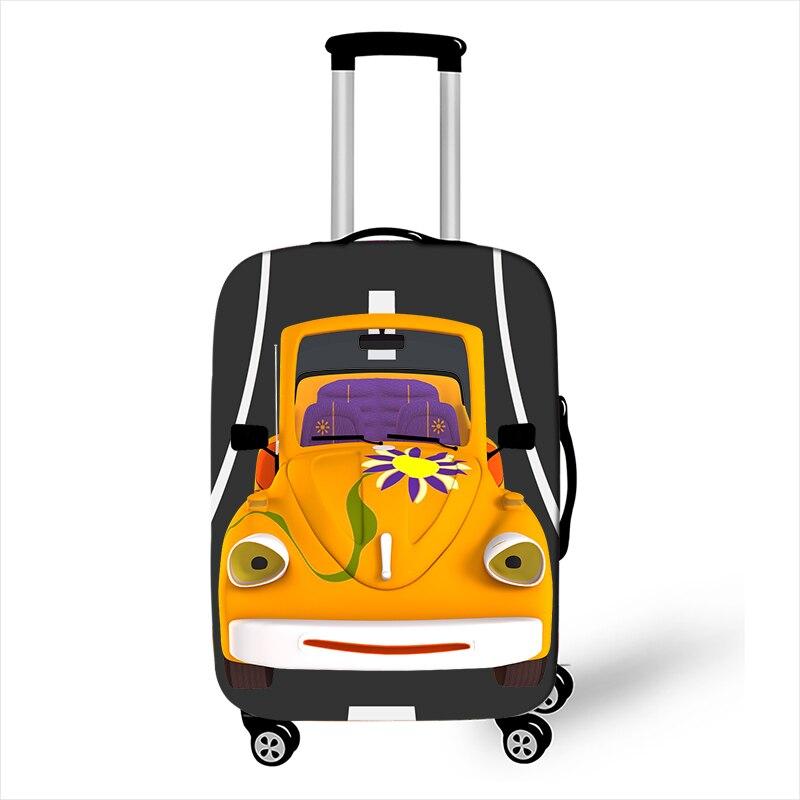 capa de bagagem para meninos meninas mala