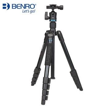 BENRO IT15 Tripod Portable Aluminium Tripods Reflexed Removerble Traveling Monopod Carrying Bag Max Loading 4kg