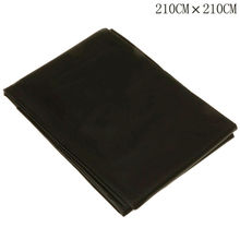 Black PVC Wetlook Bed Sheet For Couples Lover Game Waterproof Black Bed Outdoor Sheets