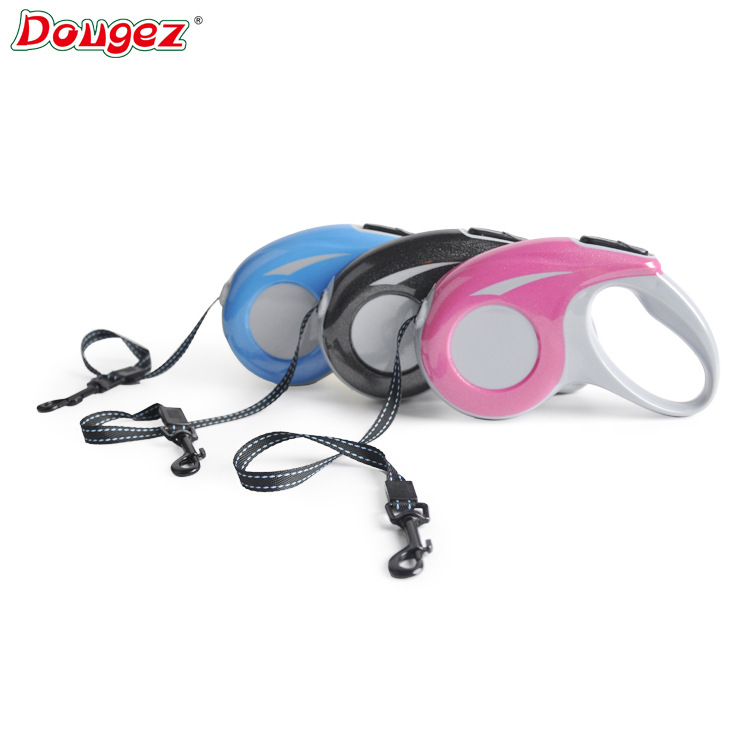 Dougez3 M Pet Automatic Flexible Tractor High Quality Dog Chain Hand Holding Rope Pet Rope Pet Supplies