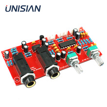 UNISIAN PT2399 Digital Microphone Amplifiers Board NE5532 Pre amplifier Reverberation Karaoke board for Amplifier