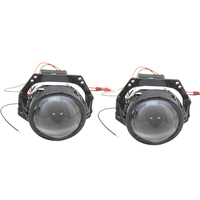 Bedehon High Brightness 2 PCS 3.0 Inch LHD RHD Bi LED Projector Lens 12V 34W 6000K 8000LM Hi/Lo Beam Built in Driver with Fan