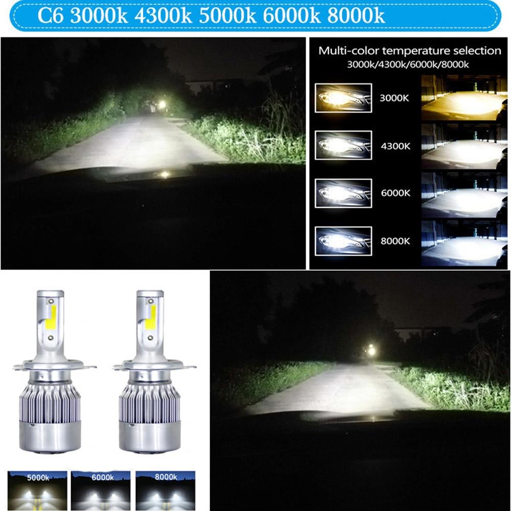 H9b72e671d50f44db9c7e71d143f108d7m ZTZPIE 6000K 8000K 12V C6 H3 H7 H1 12000LM 9006 H13 H4 H11 headlight Led Bulbs Bullet Super Bright Turbo Fan 7 Blades Car Light