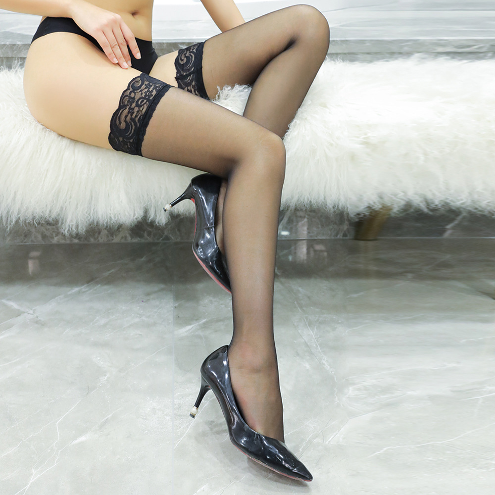Thigh High Sexy Lace Stockings Ladies Summer Over Knee Socks Female