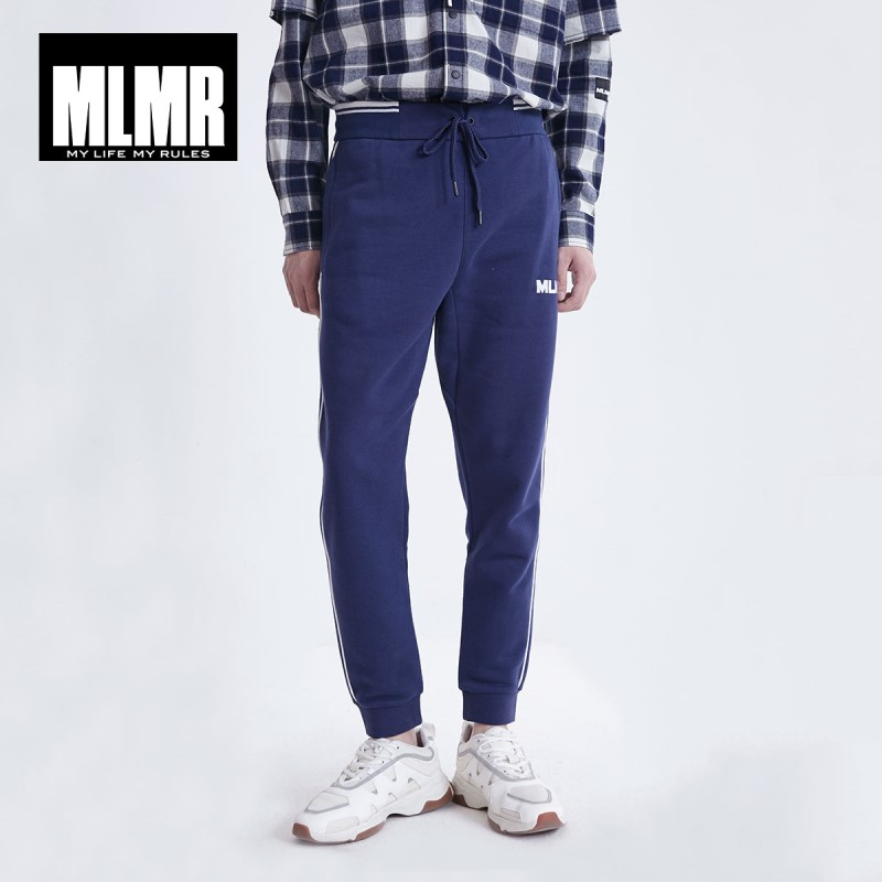 MLMR Men's Sports Inner Fleeced Jogger Pants Sporty Trendy Menswear JackJones New Brand 219114506