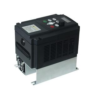Image 2 - 4kw VFD step up convertitore di tensione inverter 220v a 380v singola fase 220V convertitore di tre fasi 380v AC trasformatore di potenza