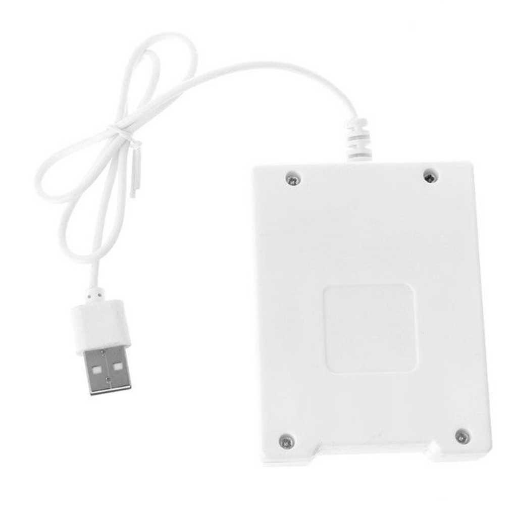 USB 4 Slots Schnelle Lade Batterie Ladegerät Kurzschluss Schutz AAA und AA Akku Station