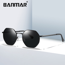 BANMAR DESIGN Men Square Polarized Sunglasses For Driving Outdoor Sports Ultra-light Series UV400 Protection