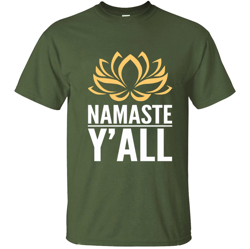 Funny Casual Namaste Hinduism Greeting To All Mens T-<font><b>Shirt</b></font> Mens T <font><b>Shirt</b></font> Tshirt For Men Costume Fitness Homme <font><b>Big</b></font> Sizes Hip Hop image