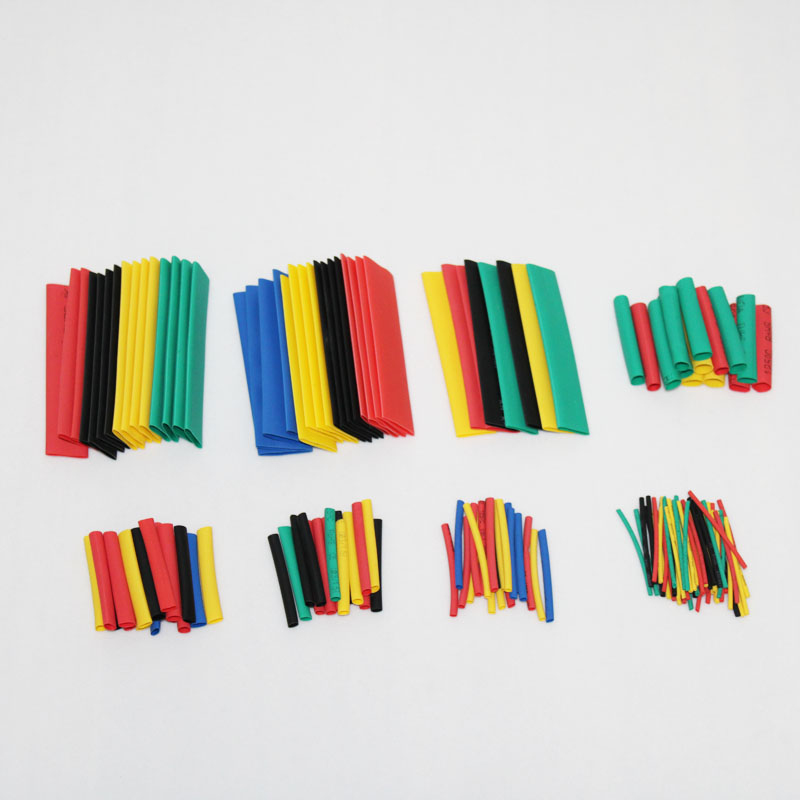 150/328/530Pcs Sortiment Elektronische Wrap Draht Kabel Isolierte Polyolefin Schrumpfen Rohr Verhältnis Isolierung Schrumpf Rohre