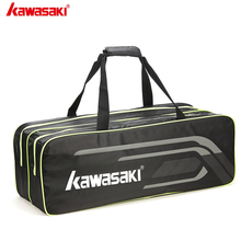 Bags Badminton-Racket Tennis Kawasaki for KBB-8645D Super-Light Polyester Single-Shoulder