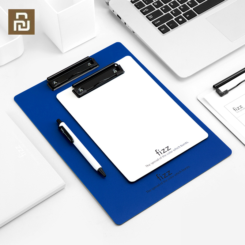 Xiaomi Fizz Board Clip A4 Folder Record Board A5 Writing Board Pad Board Meeting Record Folder Office Supplies Stationery