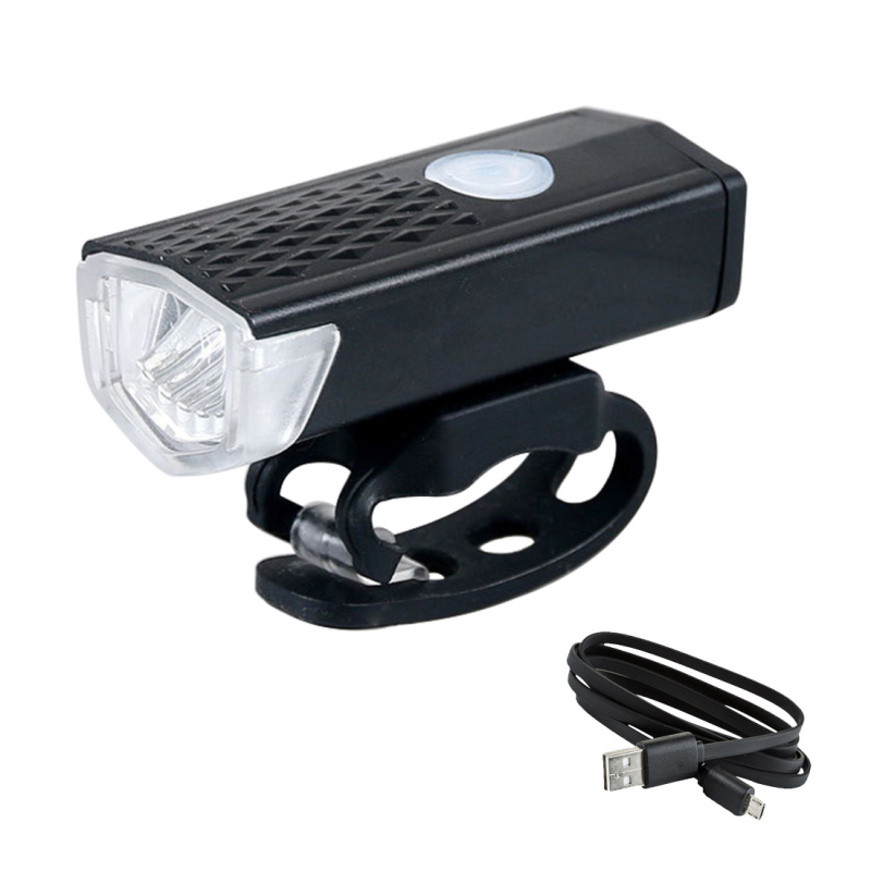Bike Light USB Rechargeable 300 Lumens 3 Modes Bicycle Lamp Light Front Headlight Bike Bicycle LED Flashlight Lantern