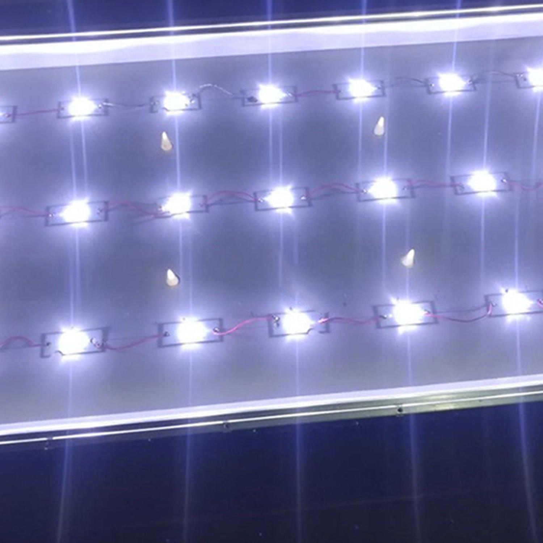 50Pcs 3V SMD Lamp Beads With Optical Lens Fliter For 32-65 Inch LED Strip Bar