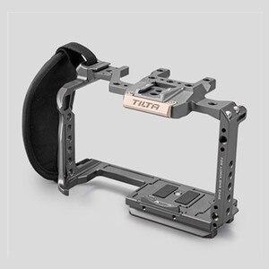 Image 5 - Tilta GH 카메라 케이지 액세서리 Panasonic LUMIX GH5 GH5S dslr rig 탑 핸들베이스 플레이트 HDMI 클램프 홀더 전원 케이블