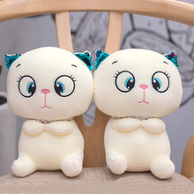 1pc 20cm Cute Plush Cat Toys Stuffed Plush Animals Cartoon Cat Doll Toys Kids Toys Girls Gifts creative cat plush toys kids toy