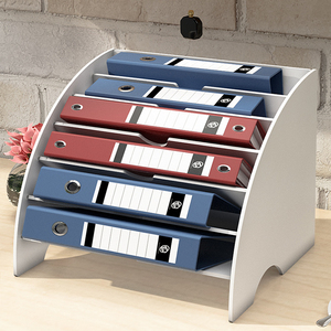 PVC Desk Organizer Mask Storage Box Magazine DIY Document File Letter Holder Stationery Pencil Container Home Office Accessories