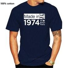 All British Parts 1974 Mens T-Shirt - 46th Birthday Gift - Present - 46 - Ideas