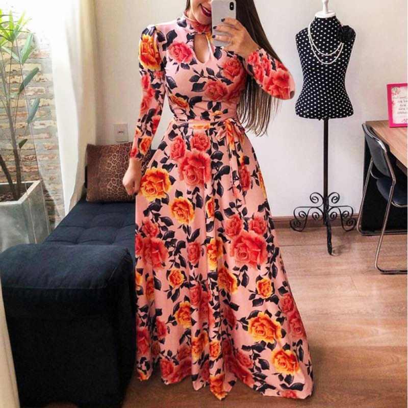 X сексуальное Европейское модное платье в американском стиле на весну и лето женское винтажное платье с коротким рукавом и цветочным принтом 5XL плюс Размер пояс с запахом платье с большим подолом