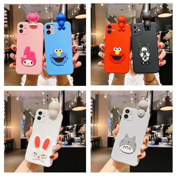 Cute 3D Cartoon Toy Phone Case for Huawei Nova 2 2i 2S 3 3i 4 5 5i 5Z 5T 6 7 SE P Smart Plus Z PRO Soft Silicon Cover Capa Coque image