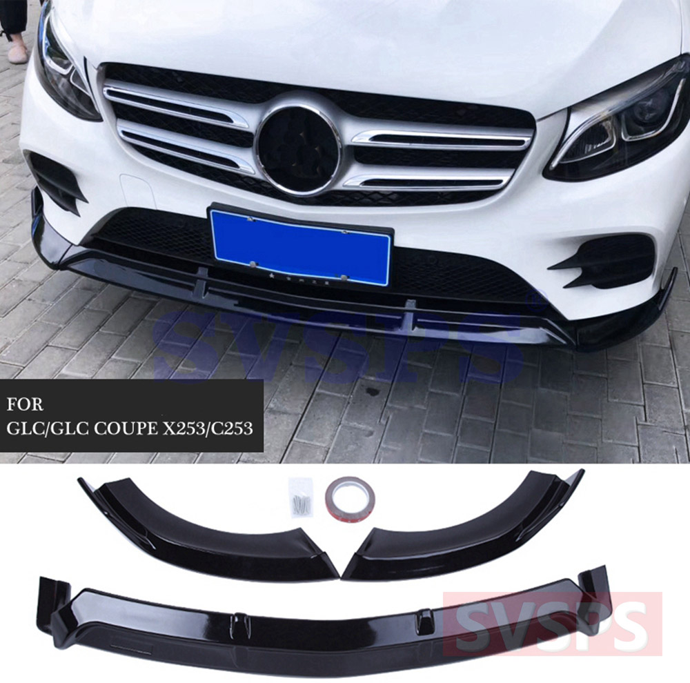Mercedes Benz GLC GLE GLS Brabus B Front Grille Badge Mirror Gloss Black Emblem