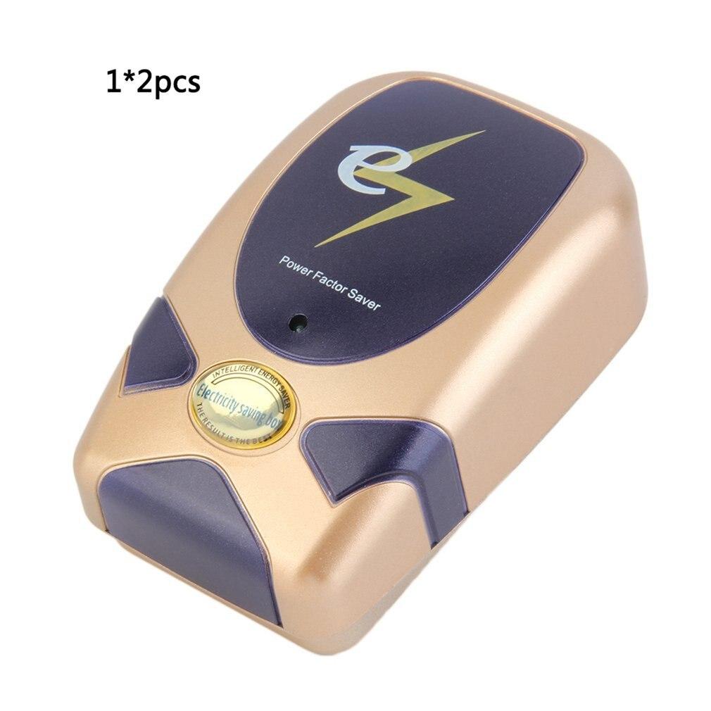 2pcs Home Factory Electricity Energy Power Saver 90-250V Electric Saving 30% Box Smart Home US UK EU Plug