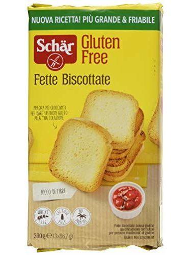 Schar Fette Biscottate, Gluten-Free, Gr 250, Senza Glutine