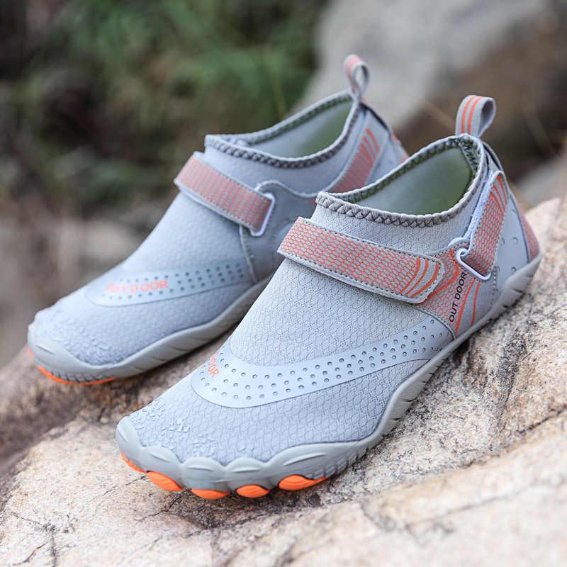 ฤดูร้อนต้นน้ำรองเท้าUnisex Breathable Quick Dryรองเท้าน้ำคู่Anti-Slipรองเท้าแตะชายหาดดำน้ำว่ายน้ำรองเท้า