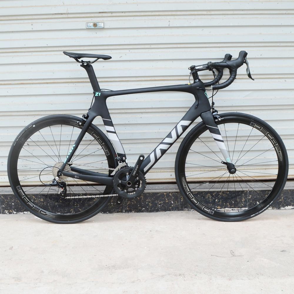 Дорожный велосипед JAVA, 22 скорости, полностью из углеродного волокна 700C, 9,3 кг
