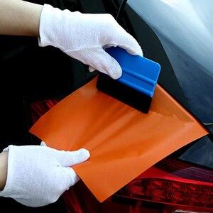 Image 3 - 14 pçs janela matiz ferramentas folha de carbono do carro vinil envoltório filme rodo ferramenta kit motor adesivo e decalques embrulho raspador conjunto
