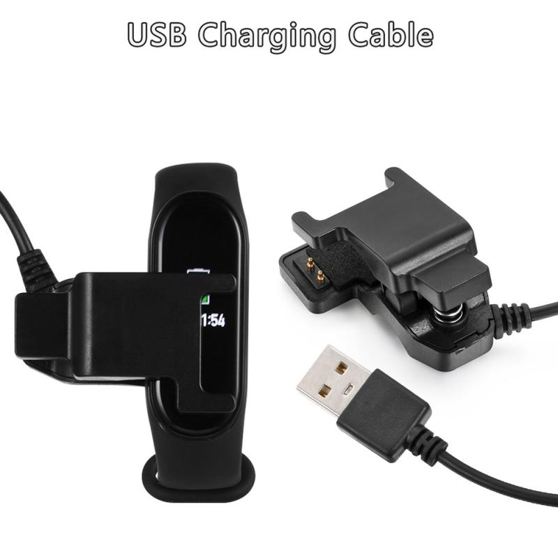 Smart USB Charging Dock Cable For Xiaomi Band 4 Replacement Cord Charger Smart Bracelet Wristband For Mi Band 4 NFC