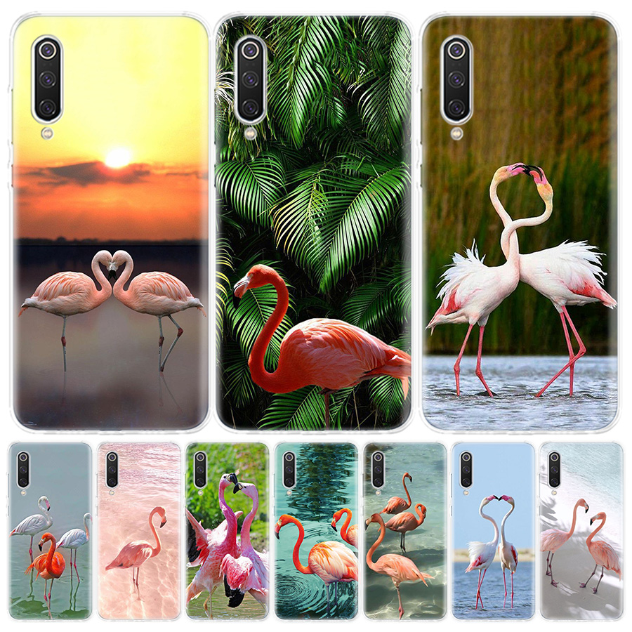 Flamingo Bird Pink Phone Case For Xiaomi Redmi 6A 7A 8A Note5 7 8 8T 9S 10 K20 K30 S2 MI8 9 6X CC9 F1 Lite Pro Cover Coque