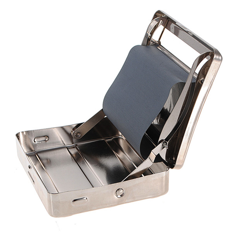 Automatic Cigarette Tobacco Smoking Smoke Roller Rolling Machine Box Case Tin High Class