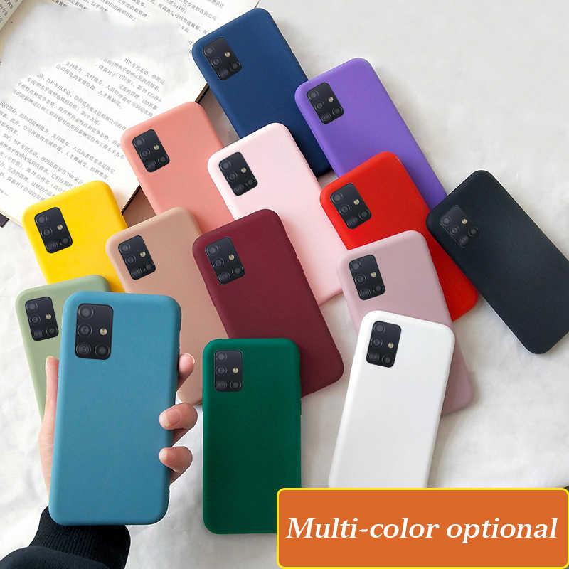 Ốp Lưng Dành Cho Samsung Galaxy Samsung Galaxy S20 S8 S9 S10 Plus Cực Note 10 Lite A51 A71 A01 A21 A50 A70 A30 a81 A91 M60S A10 A20 Kẹo Mềm Bao