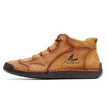 2021 новые удобные повседневные кожаные туфли мужские мягкие