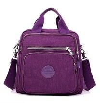 New Women Handbags Fashion Casual Waterproof Nylon One-shoulder Handbag Multi-function Shoulder Bags Bolso Mujer