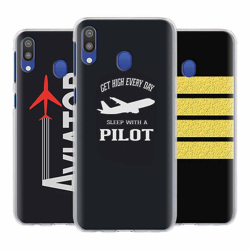 Aereo Pilota Spallina Cassa Del Telefono per Samsung Galaxy A50 A70 A51 A71 5G A10 A10e A20 A20s A30S A40 a21s A31 A41 Duro Della Copertura