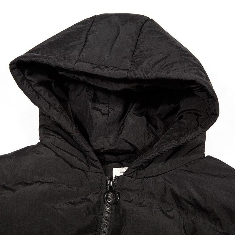 90% White Duck Down Jacket Winter Coat Men Korean Plus Size Puffer Jacket Men Hooded Parka Doudoune Homme Y8003 YY1351