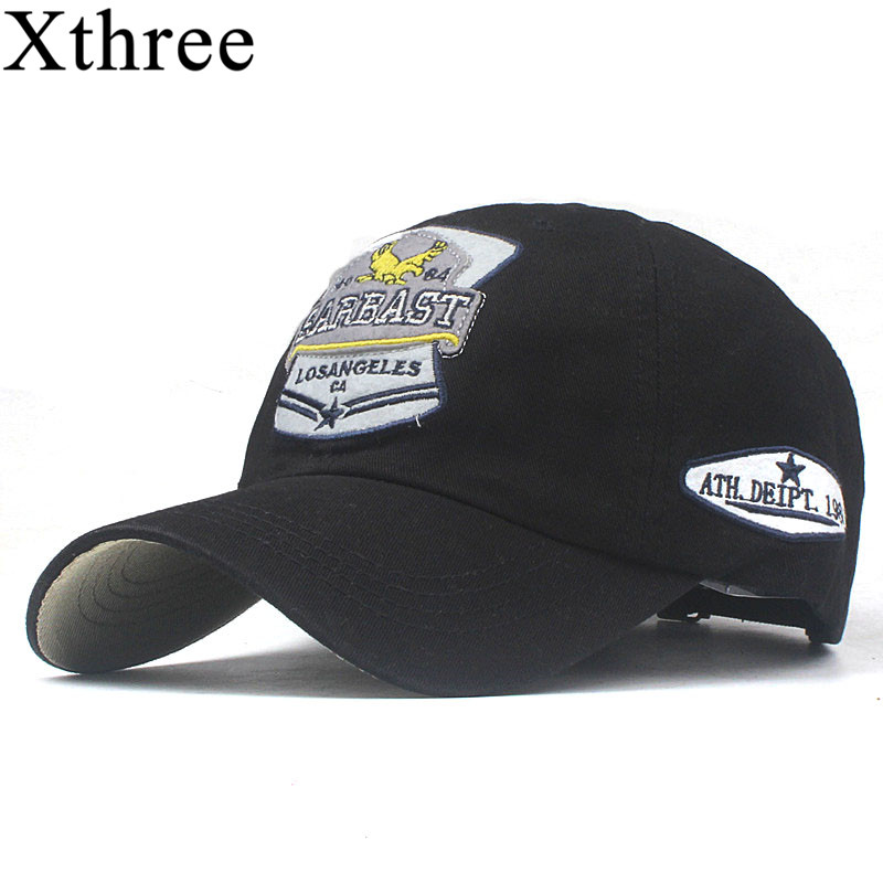 Xthree Cotton Baseball Cap Women Casual Snapback Hat For Men Casquette Homme Road Trip Embroidery Gorras Bone Cap For Women