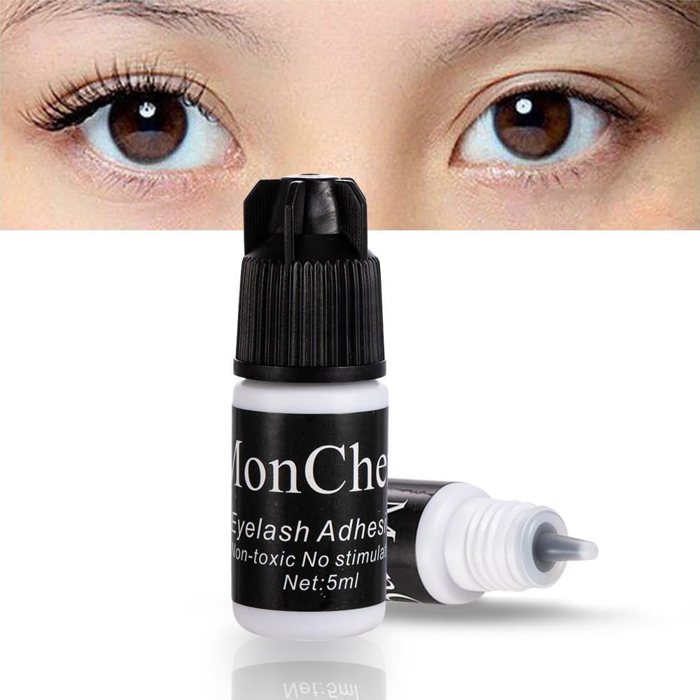 1 Pcs 5 ml False Eyelash Glue Quick Dry Dark Black Waterproof Eyelash Cosmetic Tools Extensions Glue for Grafting False Eyelashe