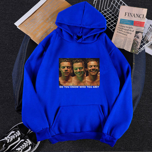 HARRY STYLES DO YOU KNOW WHO YOU ARE THEMED HOODIE