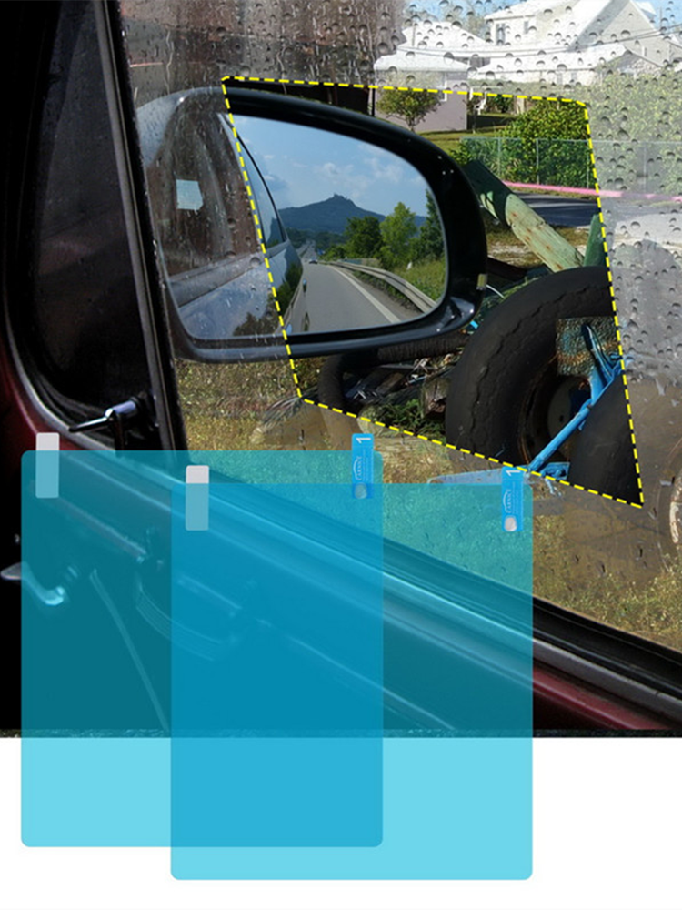 Car-Protective-Film Rearview-Mirror Car-Accessories Car-Window Anti-Fog 2pcs